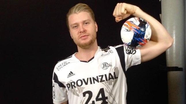 THW Kieli käsipallur Dener Jaanimaa.