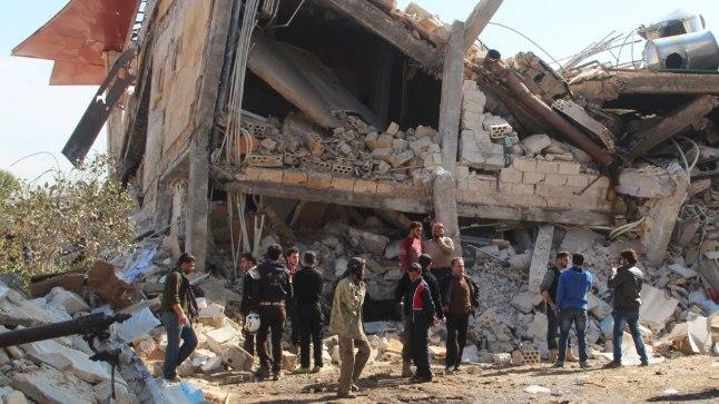 Maarat al-Numanis asunud ja rünnakus hävinud haigla kuulub organisatsioonile Médecins Sans Frontières (Piirideta Arstid)