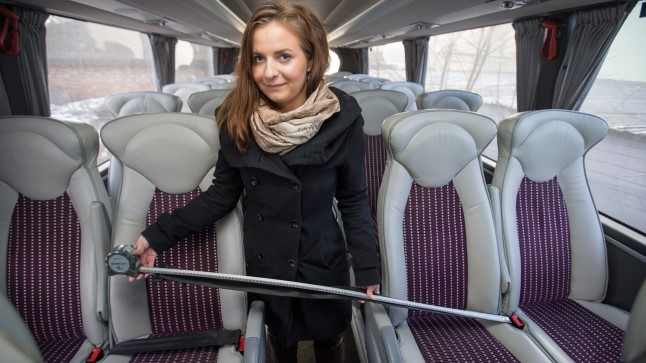 Kõige pikema turvavöö mõõtis reporter välja Lux Ekspressi bussis, kus turvavöö oli 1,2 m.