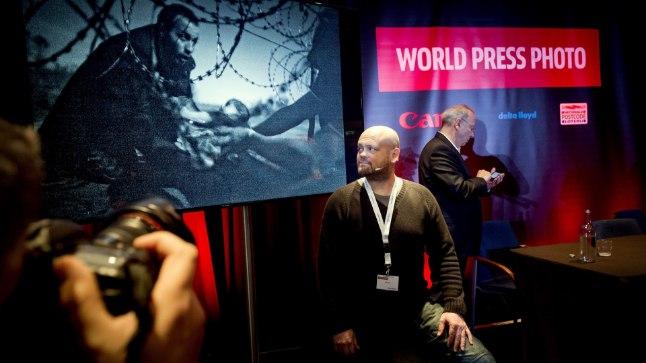 """Budapestis töötav austraallane Warren Richardson võidu toonud fotoga """"Lootus uuele elule"""""""