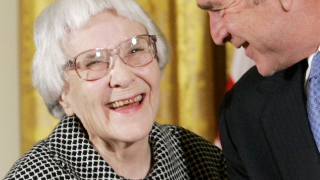 Harper Lee ja president George W. Bush