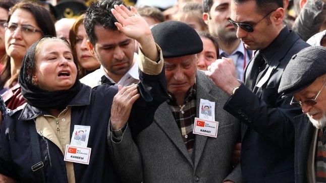 17. veebruaril Ankaras hukkunute matused