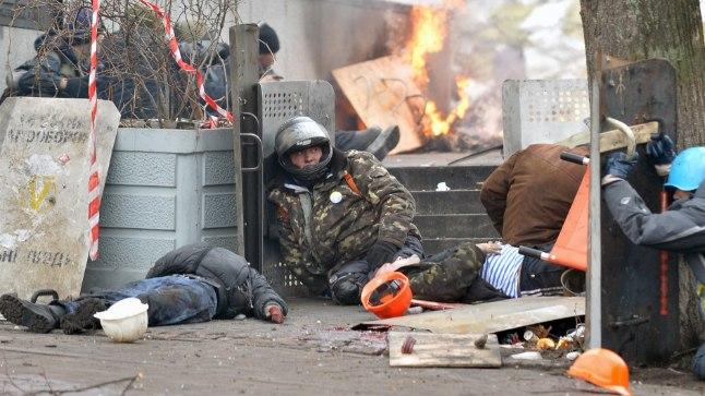 VERINE NELJAPÄEV: Kaks aastat tagasi, 20. veebruaril 2014, tapeti Kiievis 48 maidanlast.
