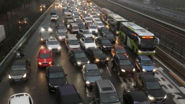 Liiklus Hiinas.
