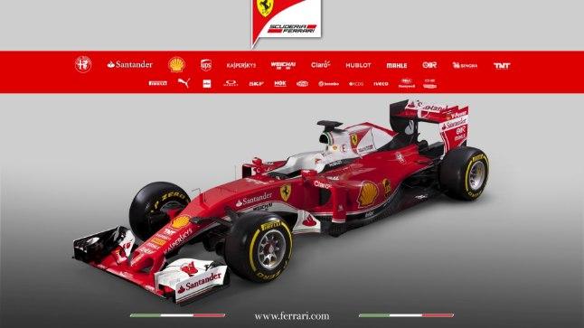 Ferrari SF16-H vormel