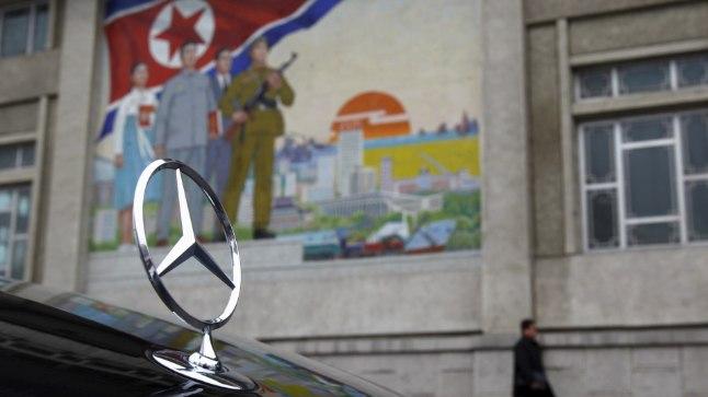 Pyongyangis leidub ka Mercedeseid...