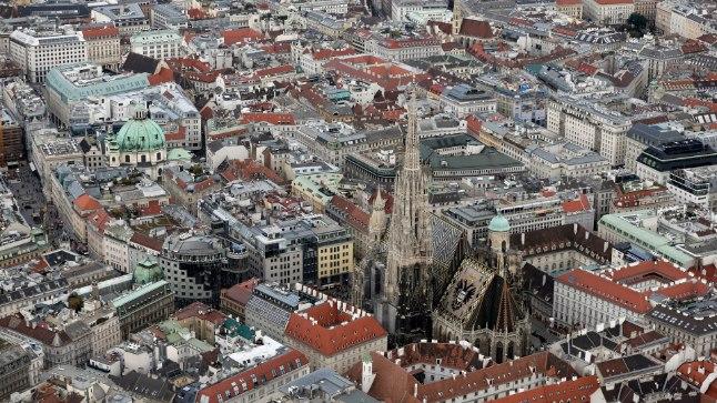 PARIM LINN: Vaade Austria pealinnale Viinile, mida konsultatsioonifirma Mercer peab maailma kõrgeima elukvaliteediga linnaks.