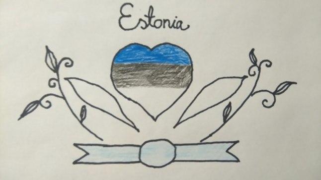 Eesti märgi kavand.