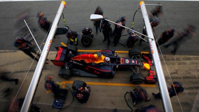 Red Bulli tänavune vormel