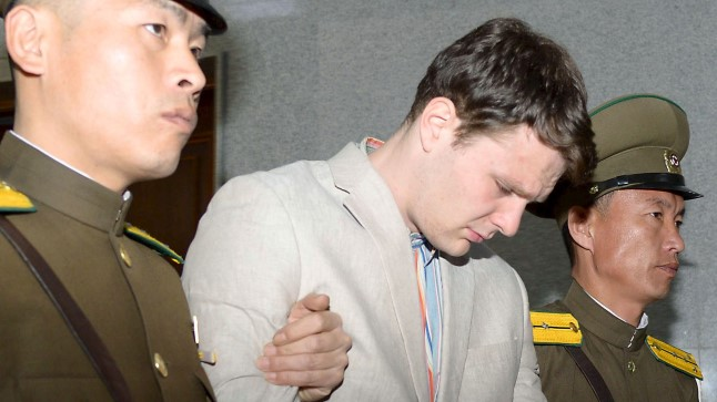 Otto Frederick Warmbier Põhja-Korea kohtus