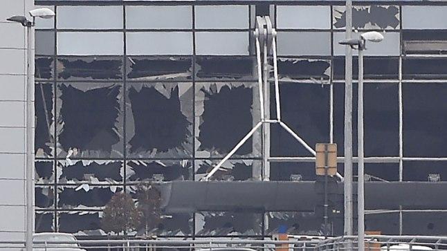 Terrorirünnakutes sai kannatada Zaventemi lennujaama peaterminal.