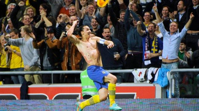 Zlatan Ibrahimovic (särgita).