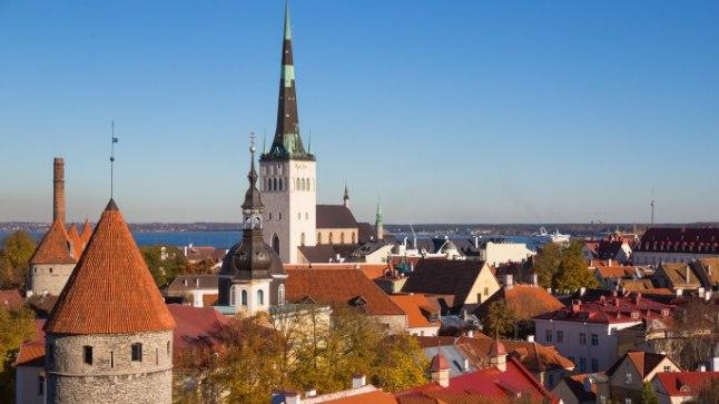 Tallinna linnavaade.