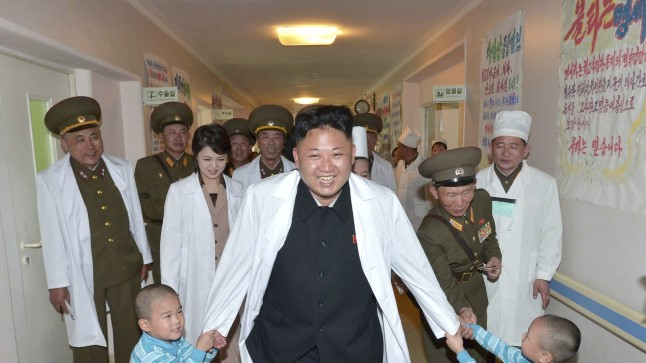 Äkki oleks mul õnnestunud Pyongyangi haiglas sellist pilti näha!?