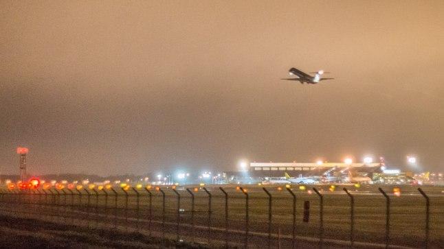 Tallinna Lennujaama tänaõhtune töö oli udu tõttu häiritud.