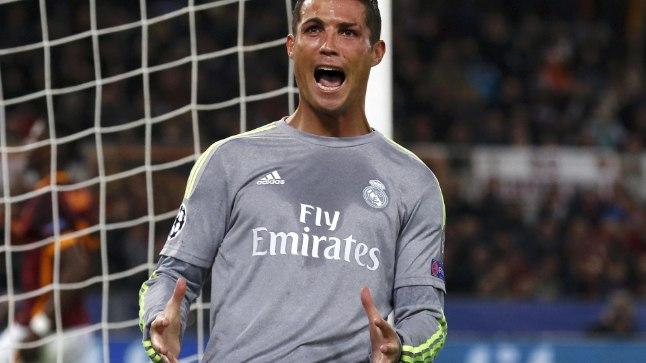 VÕTI: Cristiano Ronaldo (vasakul) on tänavu Meistrite liigas Reali kasuks 12 väravat löönud.