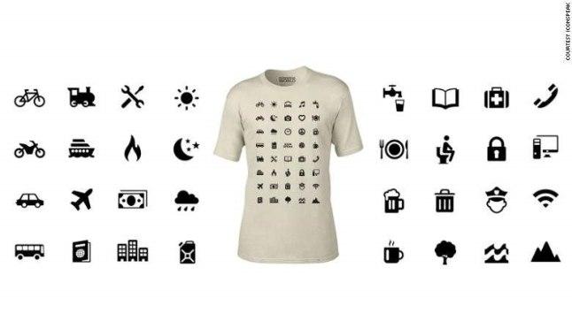 T-särk, mis räägib igas keeles.