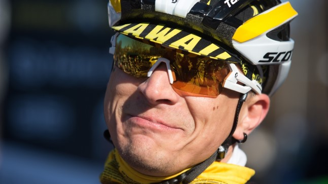 Tanel Padar osales Trismile korraldataval 120 km rattasõidul Tartust Viljandisse.