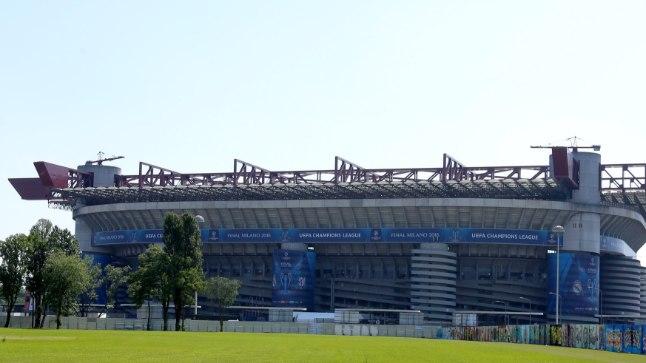 San Siro staadion Milanos.
