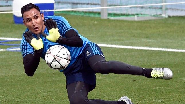 Madridi Reali väravavaht Keylor Navas.