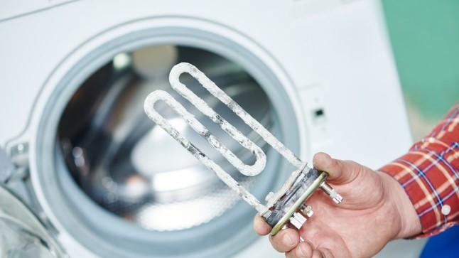 Katlakivi võib rikkuda pesumasina küttekeha