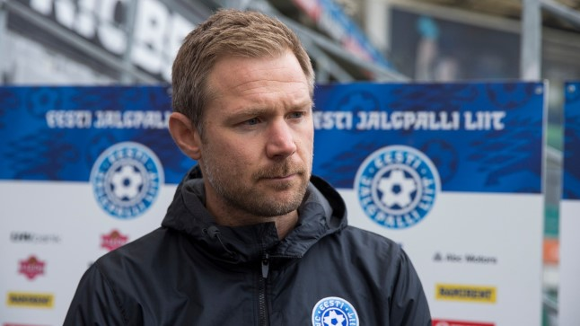 Eesti jalgpallikoondise peatreener Magnus Pehrsson.