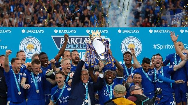 Leicester City tiitlipidu
