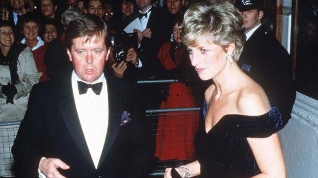 PRINTSESS JA TEMA KAITSJA: Ken Wharfe väidab, et jõudis nende kuue aasta jooksul, kui ta Dianat valvas, olla tunnistajaks nii tema armulugudele kui ka vingepussidele.