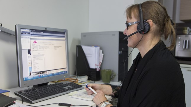 Perearsti nõuandetelefonile vastab paljude teiste seas ka pereõde Marika Kalmõkov.
