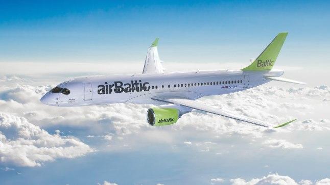 IGA BOMBARDIER POLE SAMA: AirBalticu lähikuudel saabuvad CS300 tüüpi lennukid on märksa suuremad ja lendavad kaugemale kui Nordica CRJ900, kuigi tootja on sama.