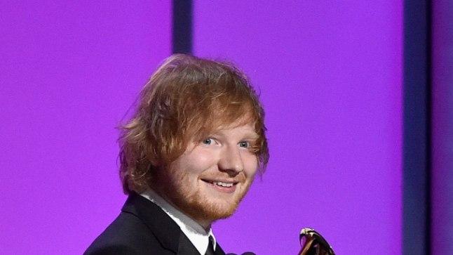 Ed Sheeran mullu veebruaris.