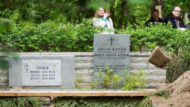 Marie Underi ja Artur Adsoni ümbermatmine