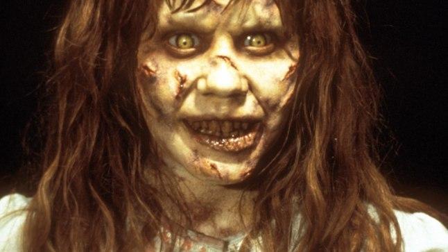 """Linda Blair William Friedkini lavastatud filmis """"The Exorcist"""" (1973)."""