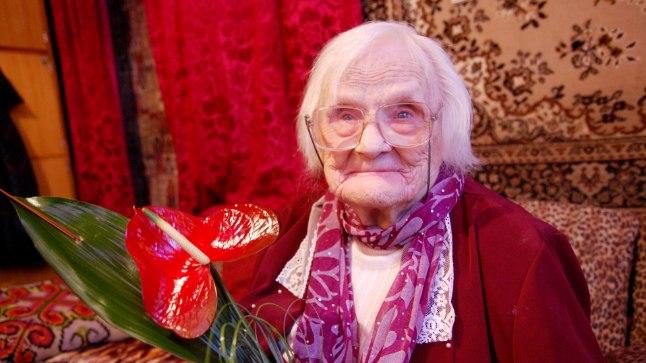 Mida soovitab täna 103. sünnipäeva tähistanud Tartu memm, et terve ja rõõmus püsida?