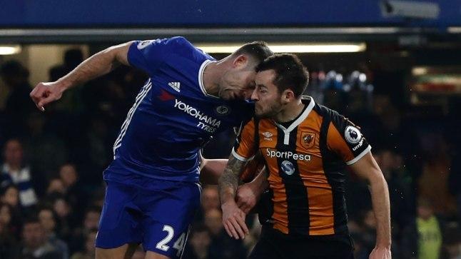 FOTOD | ÕUDNE! Hull City pallur sai kokkupõrkes vastasega koljuluumõra