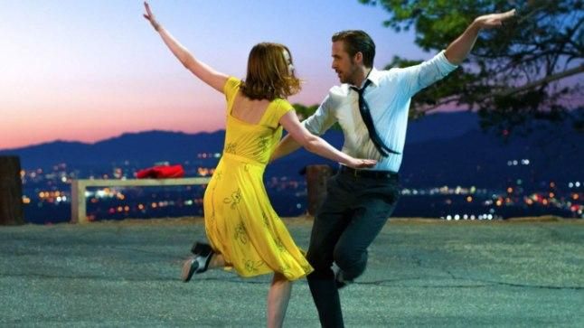 OOD UNISTAJATELE: «La La Landi» keskmes on algaja näitlejanna (Emma Stone) ja kirglik džässmuusik (Ryan Gosling), kes püüavad konkurentsirohkes Los Angeleses edasi pürgida.