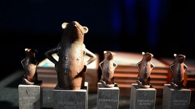 Eesti Rahva Muuseumis korraldatud Eesti muuseumide aastaauhinna gala 27. jaanuaril 2017.