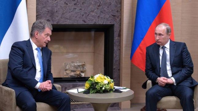 Sauli Niinisto ja Vladimir Putin