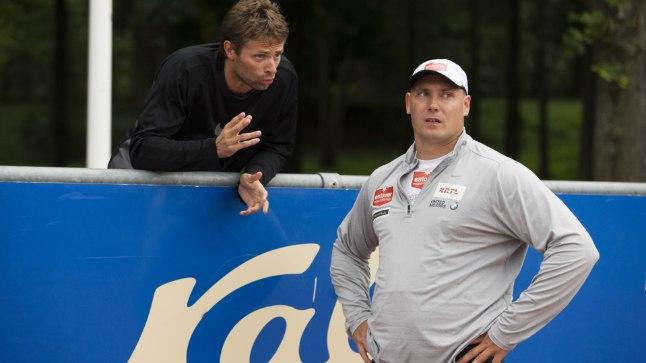 MITMEKÜLGNE: Indrek Tustit (vasakul) aitab Gerd Kanterit nii füsioterapeudi kui ka treenerina.