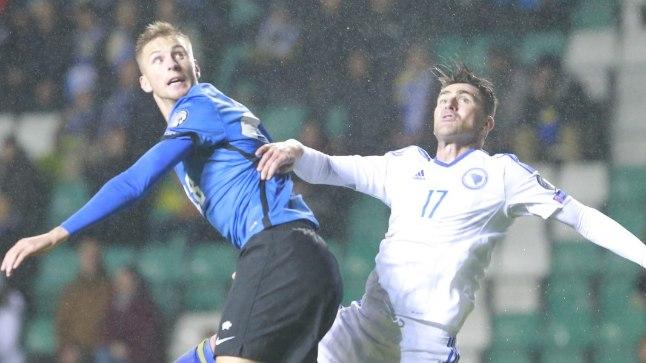 Eesti vs Bosnia 1:2.