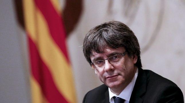 Kataloonia president Carles Puigdemont.
