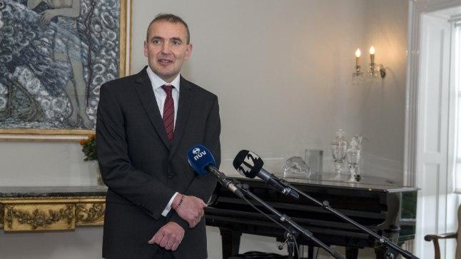 Islandi president Gudni Johannesson.