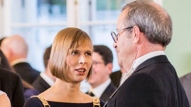 Kersti Kaljulaidi ametisse astumine.