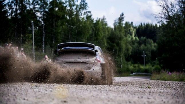 Ott Tänak - Martin Järveoja Soome rallil.
