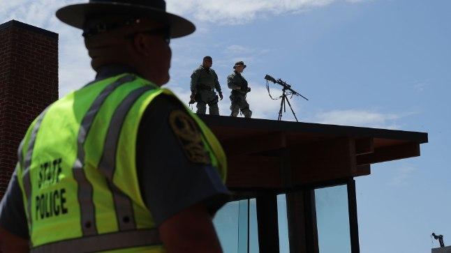 Virginia osariigi politsei. Pilt on illustreeriv.