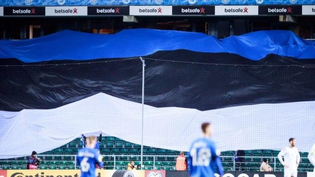 Eesti jalgpallikoondise matš Bosnia ja Hertsegoviina vastu.