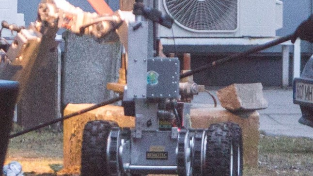 Pommirobot. Illustreeriv pilt.