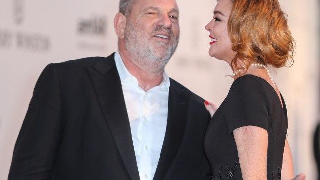 Lindsay Lohan ja Harvey Weinstein