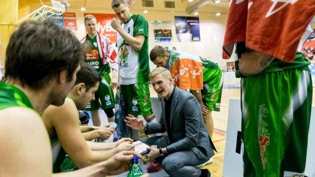 Valga-Valka korvpallimeeskond (arhiiv).
