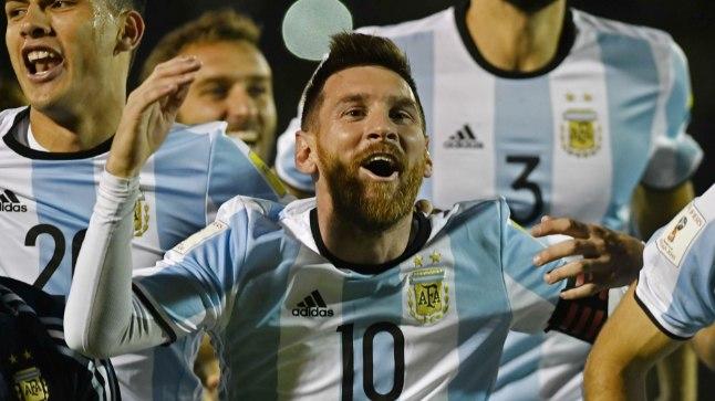 Tõeline kapten: Lionel Messi (keskel) vedas koondise MMile.